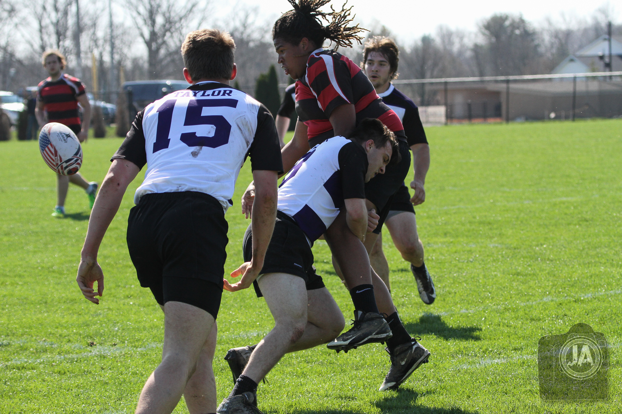 Taylor Rugby Tackle