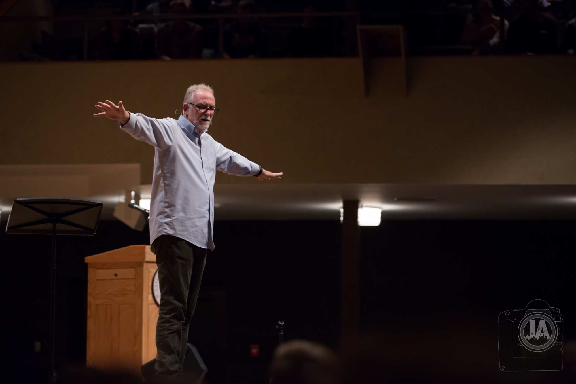 Bob Goff speaking at Conference